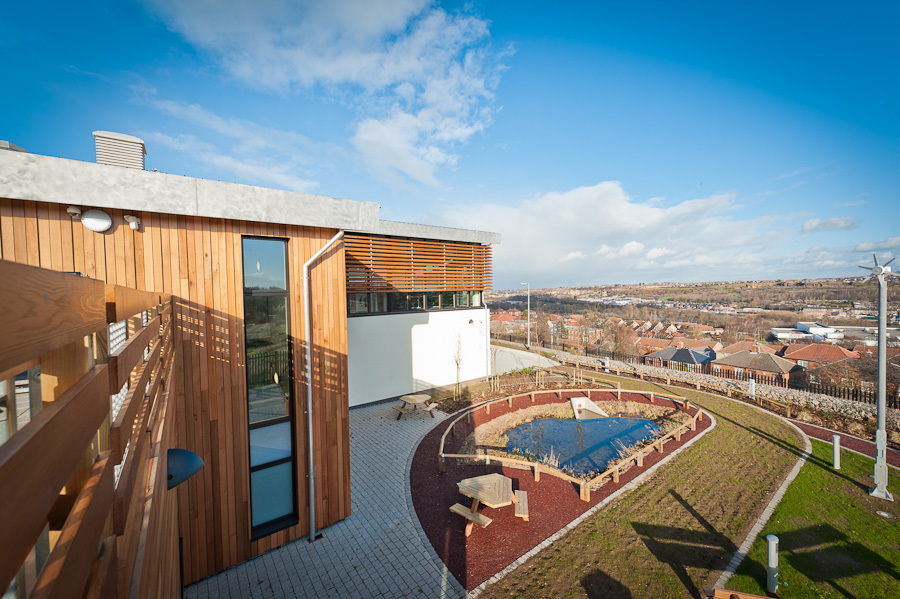 Think Low Carbon Centre Balancing Pond
