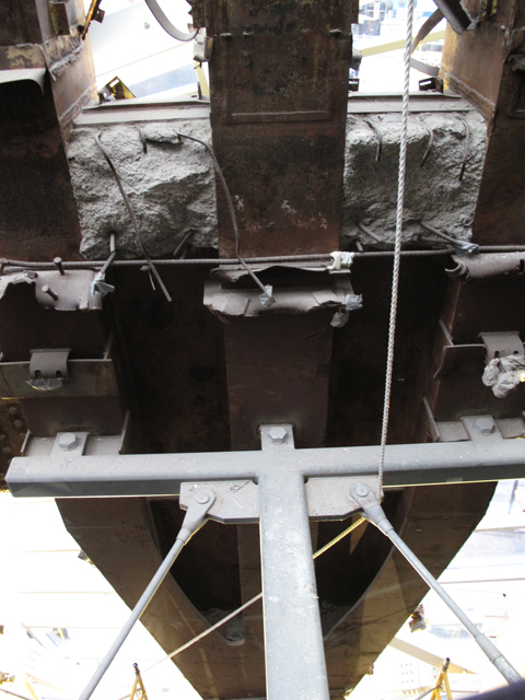 WTC VOEC - Trident Artifact Structural Bracing