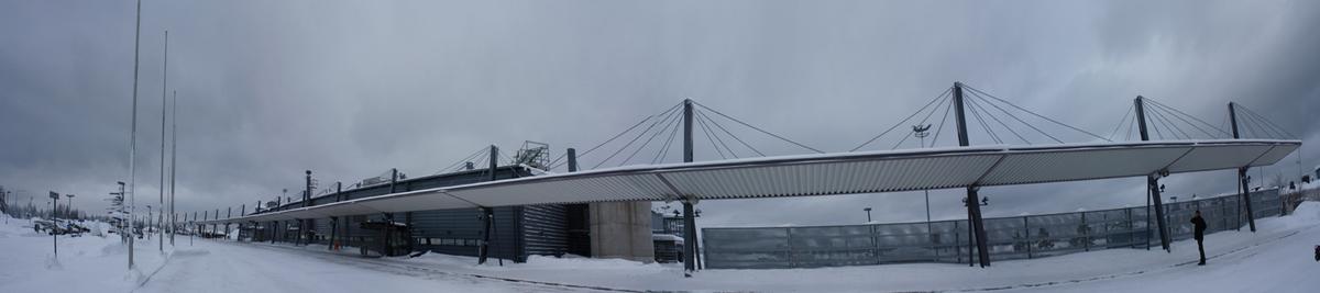 Panorma of Rovaniemi Airport, by Heikkinen-Komonen