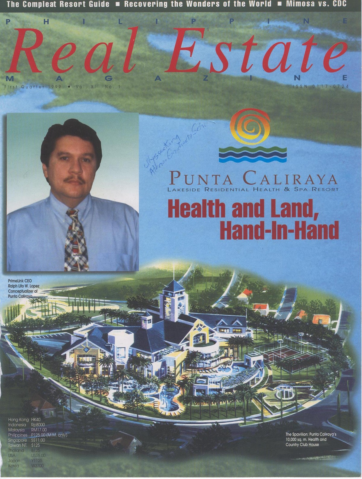 Cover Feature in A Real Estate Magazine