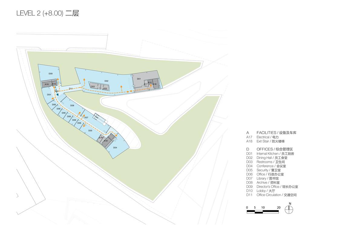 Plan at Level 3 (© Studio Link-Arc)