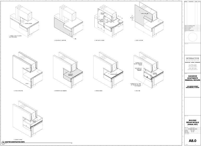 Construction drawings built