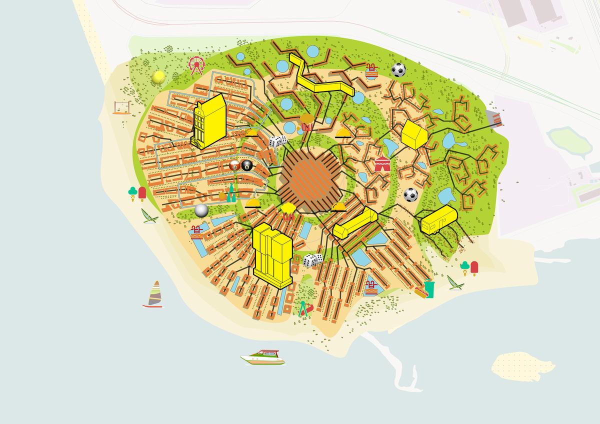 Old Inclusive - Retirement Resort Tourist Map