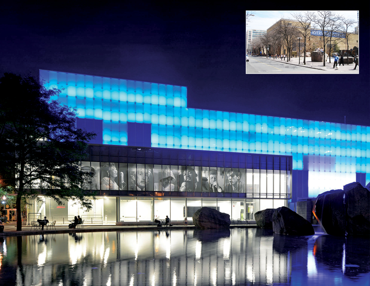 Before and After 1: The School of Image Arts was housed in a windowless former brewery for 50 years