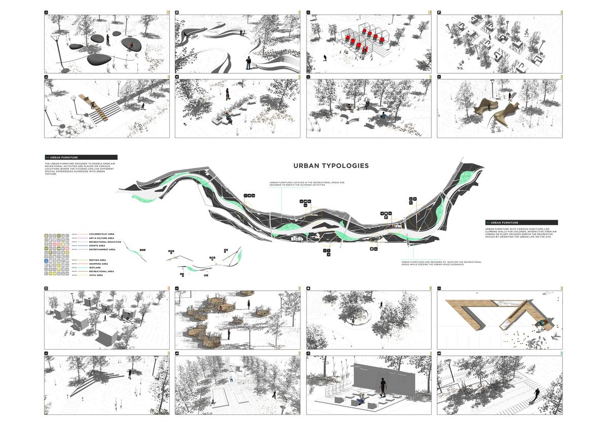 054 – URBAN IDENTITY | URBAN FURNITURES - Image Courtesy of ONZ Architects & MDesign