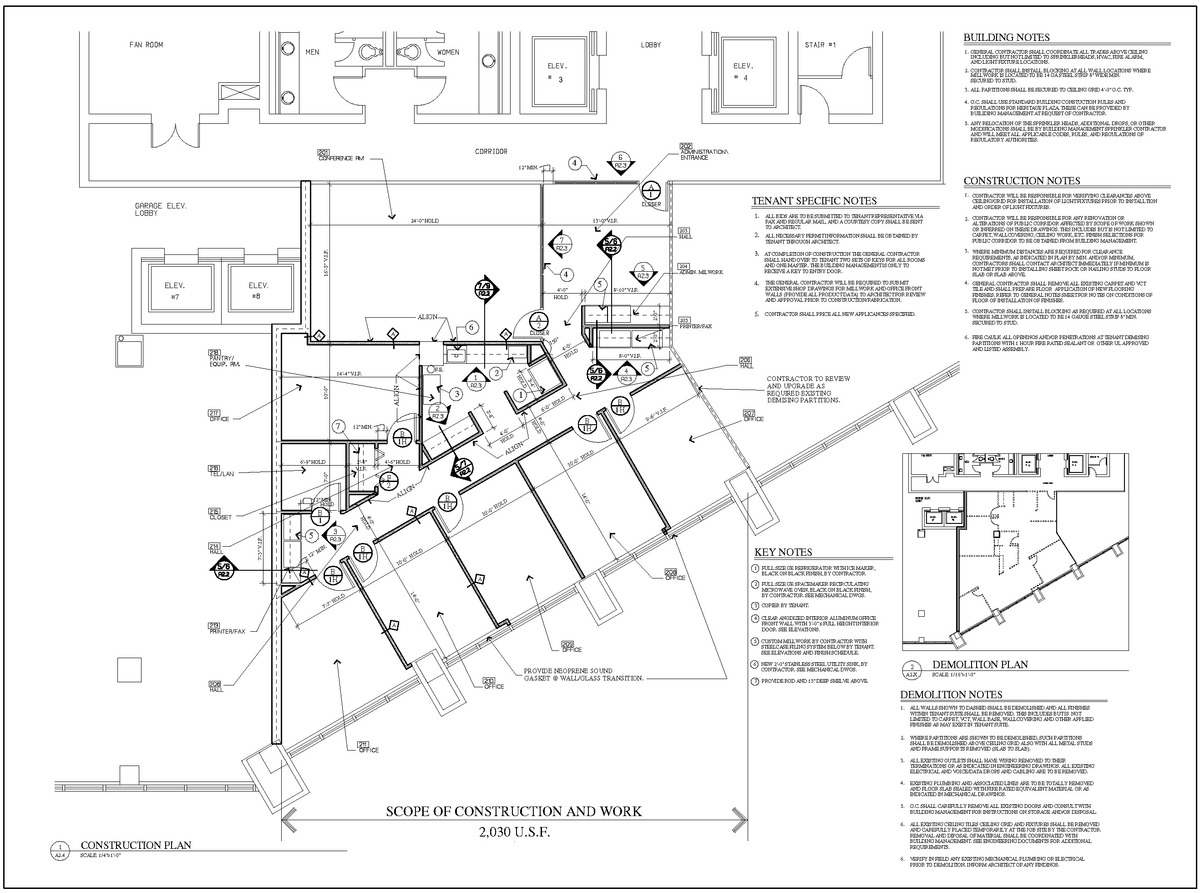 Construction Floor Plan