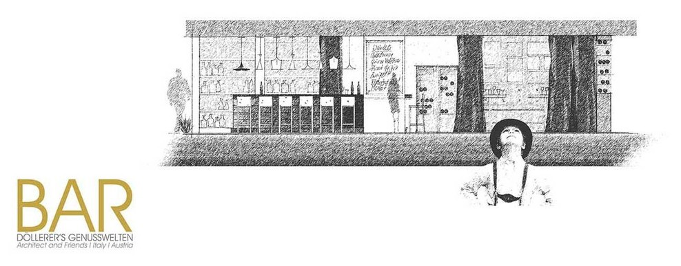 Concept of the bar.