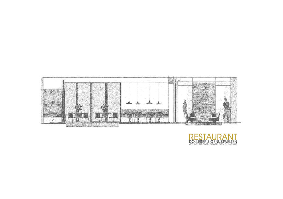 Concept of the restaurant.