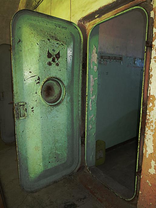 Patarei Sea Fortress and Prison (interior door) via Jennifer Wong