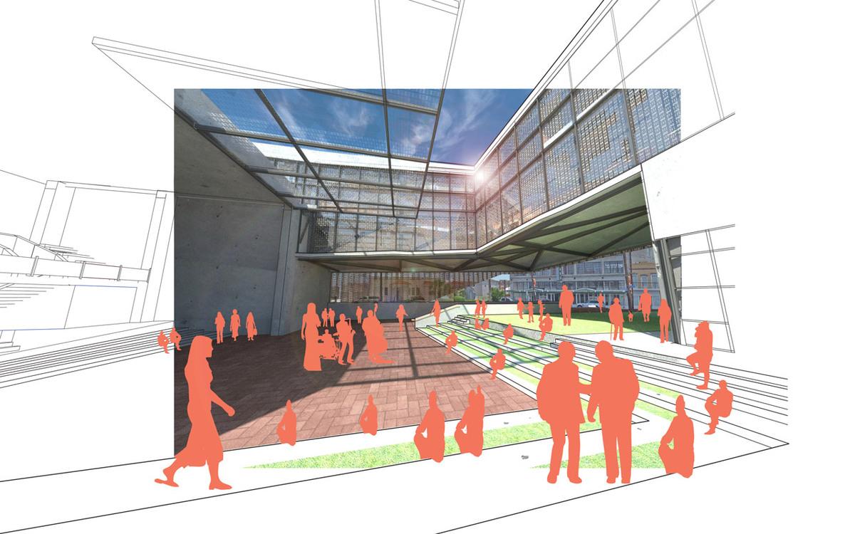 Community Courtyard/Auditorium