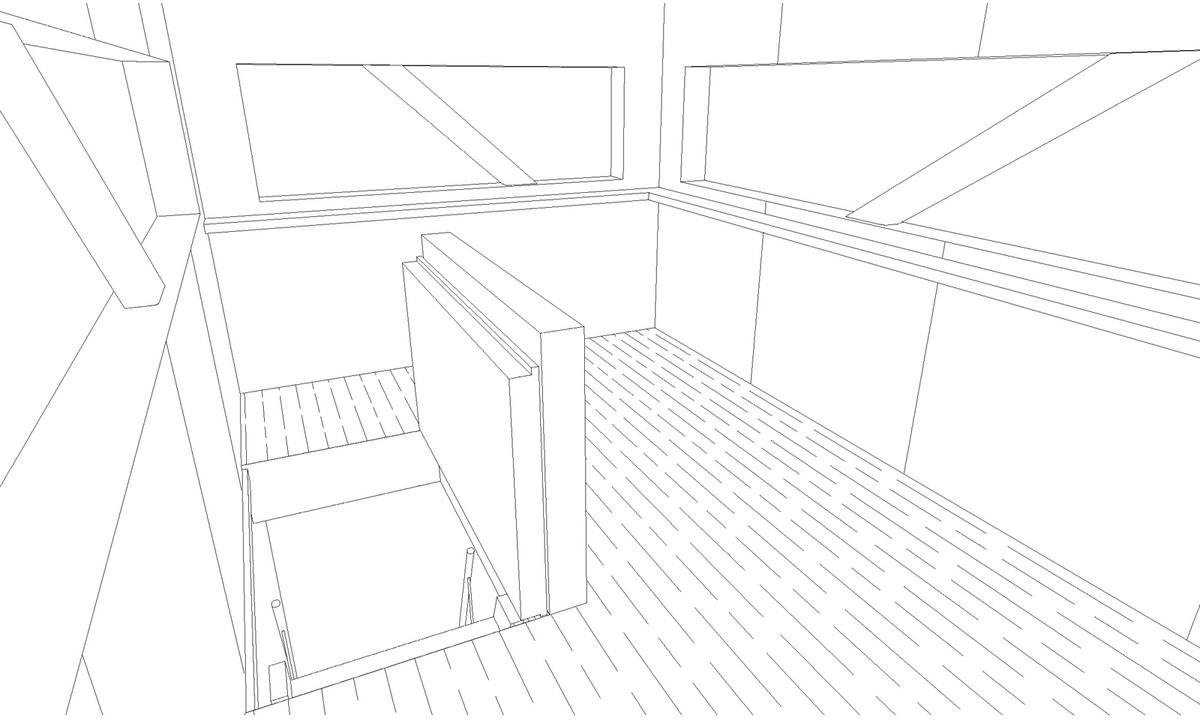 Trapdoor feature