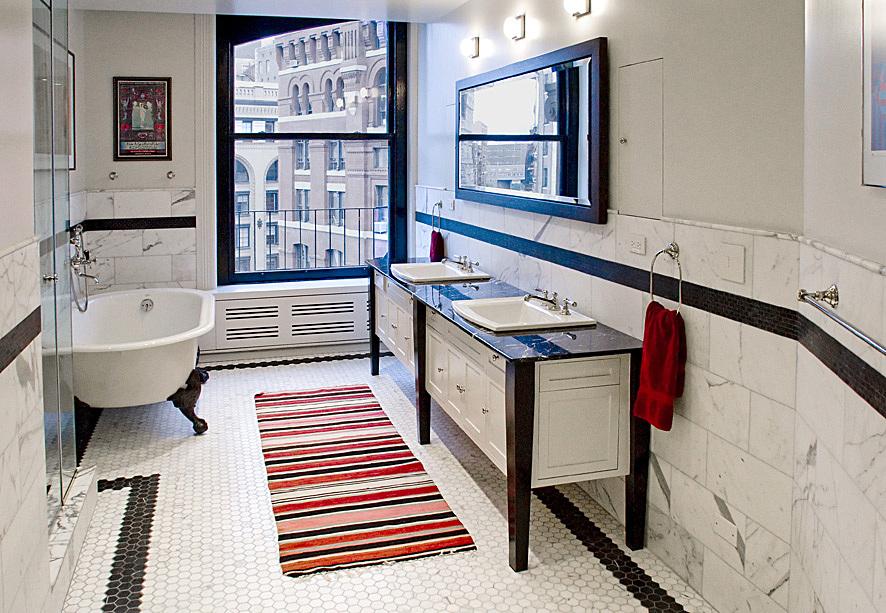 Master Bathroom with custom vanity