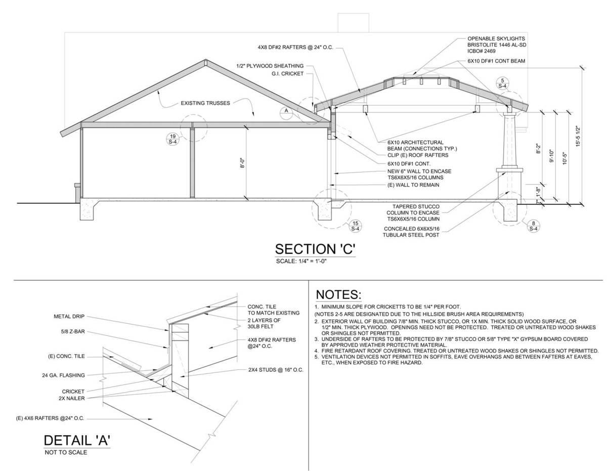 Pavilion Section 'C'