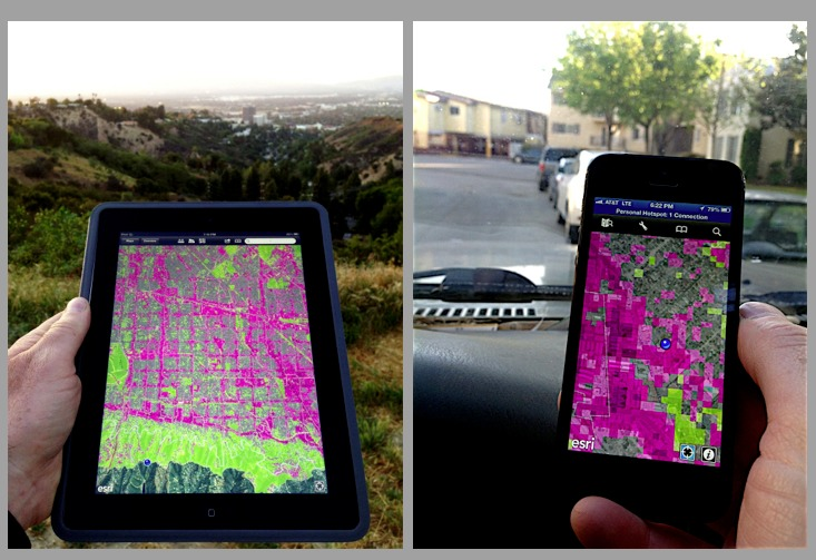 stormwater infiltration model for the San Fernando Valley via Arid Lands Institute.