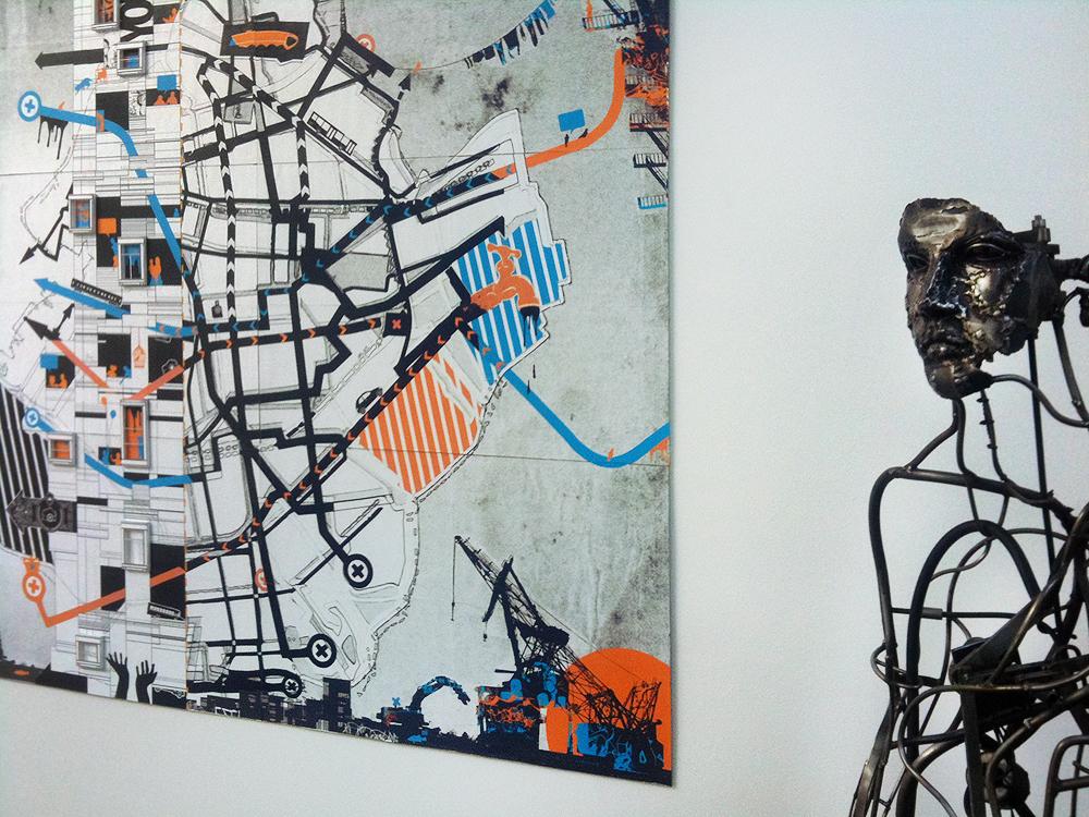 Corridor Gallery Installation View 01