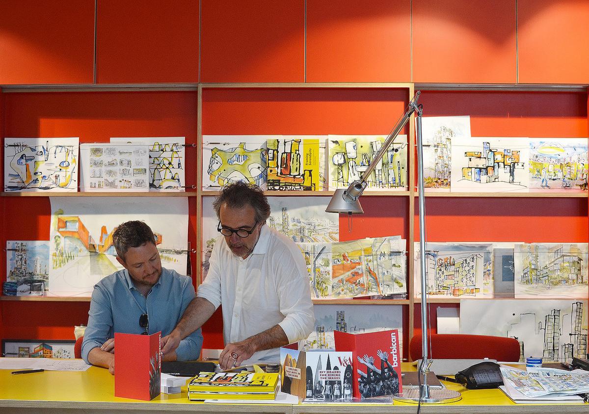 David West and Christophe Egret, co founders of Studio Egret West