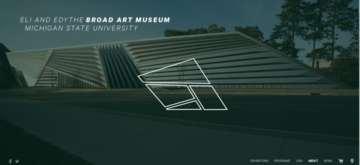 The Eli and Edythe Broad Art Museum at Michigan State University (website)