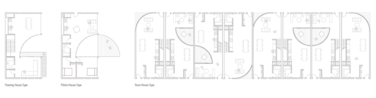 Floor Plans of Housing Types