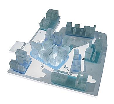 Cumulus - Grorud Center - Model