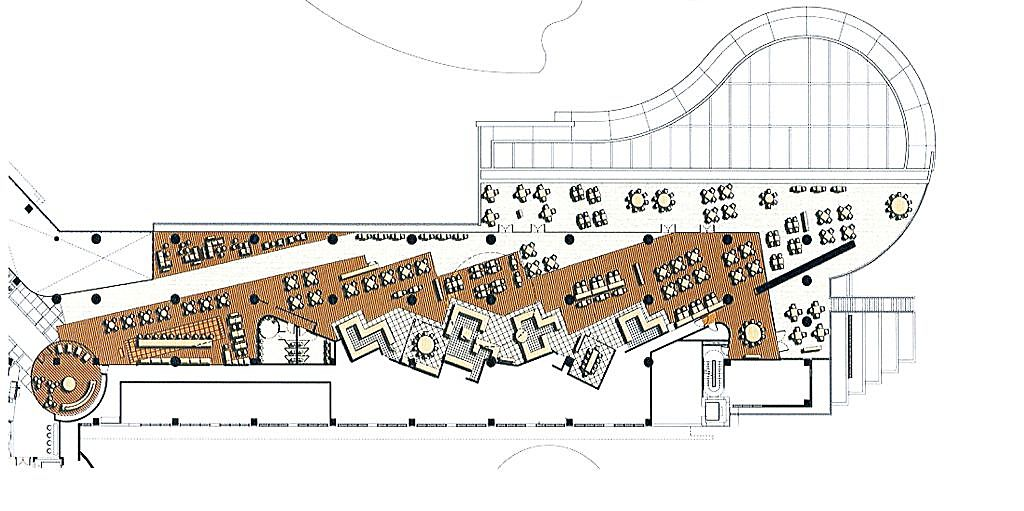 Courtyard Interior Plan