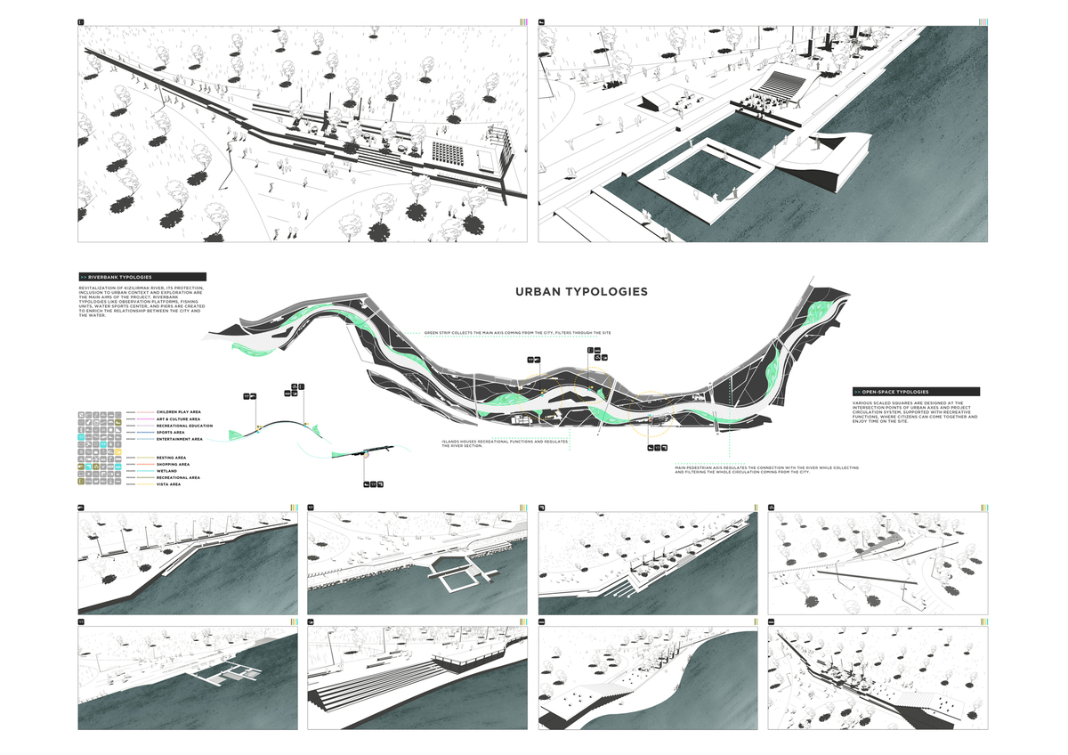 051 – URBAN IDENTITY | RIVER BANK IDENTITY - Image Courtesy of ONZ Architects & MDesign