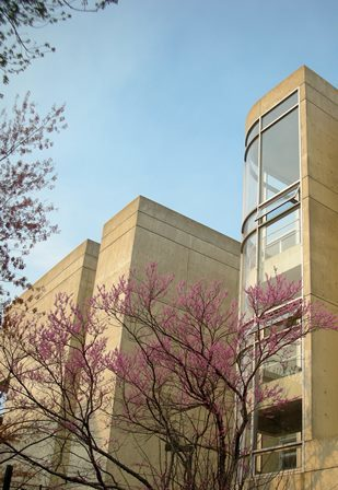 The UT Art + Architecture Building