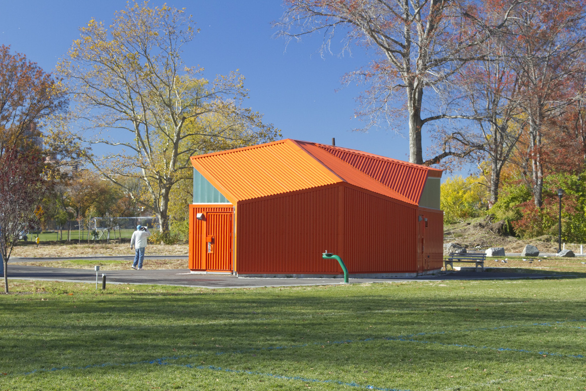Comfort Stations (on Randall's Island) by RZAPS