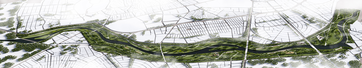 013 – AERIAL VIEW - Image Courtesy of ONZ Architects & MDesign