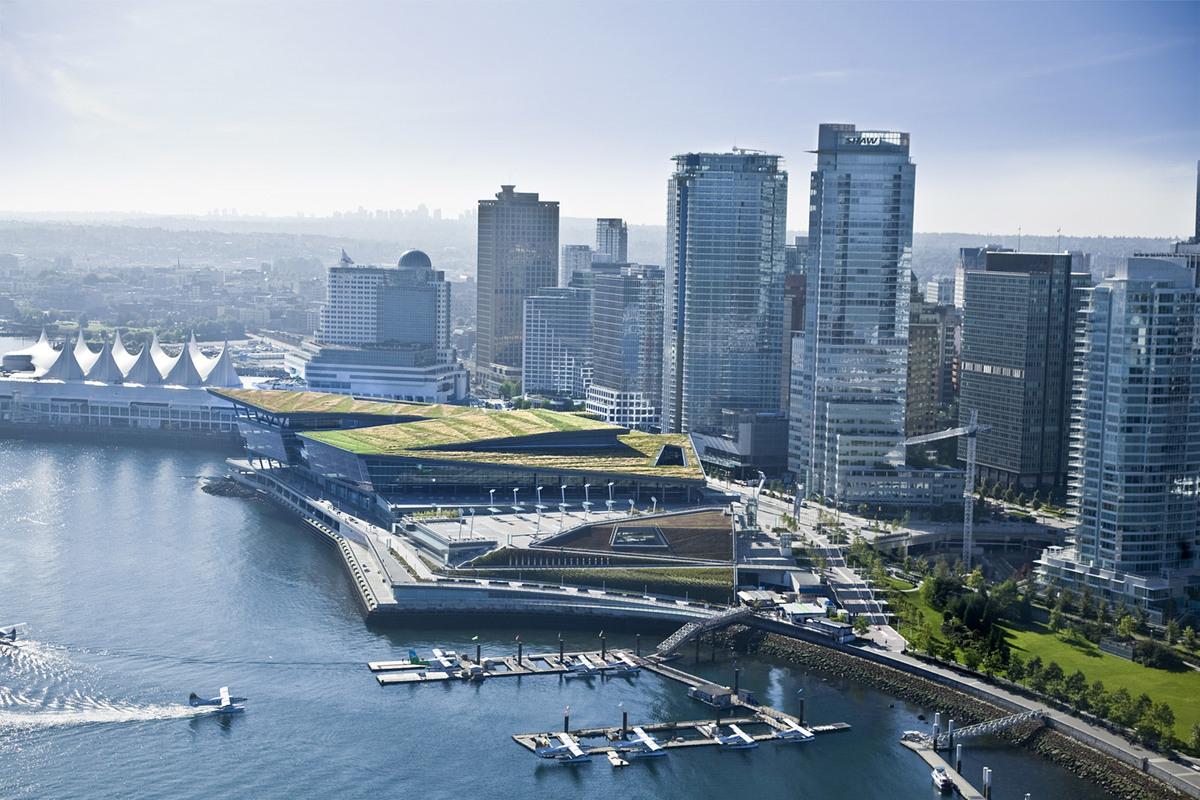 Vancouver Convention Centre West; Vancouver, Canada (Photo: LMN Architects)