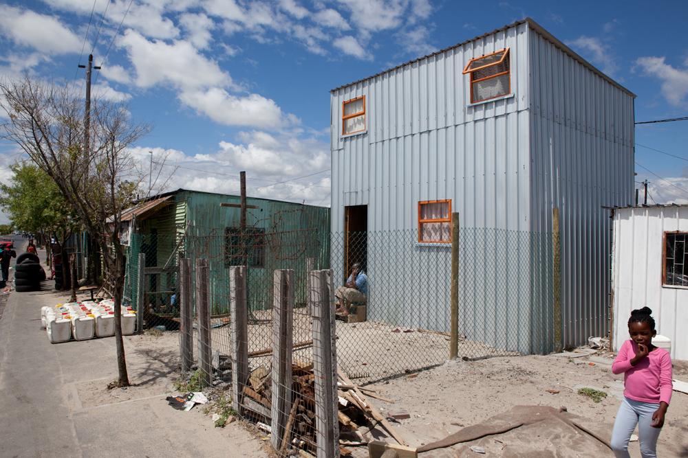 Empower Shack in Cape Town, South Africa. Credit U-TT / Daniel Schwartz.