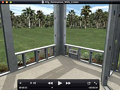 BIM model created for marketing animation