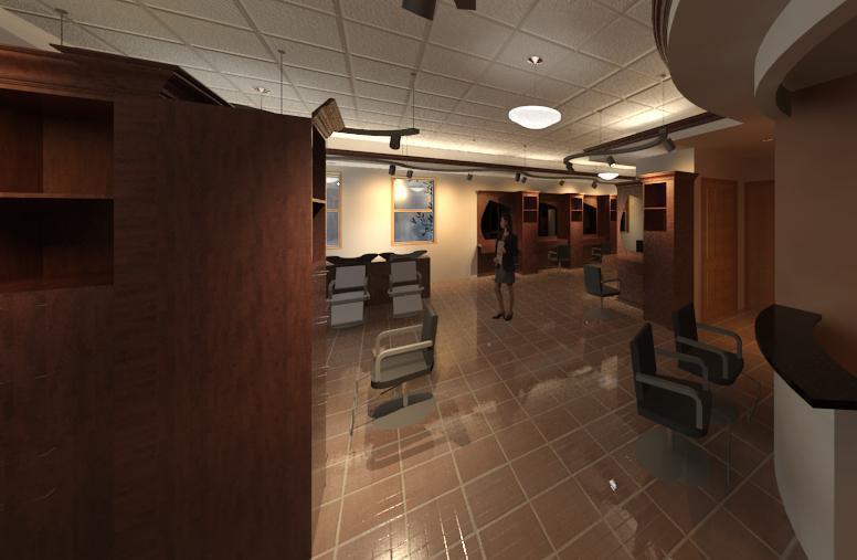 View fo the Salon