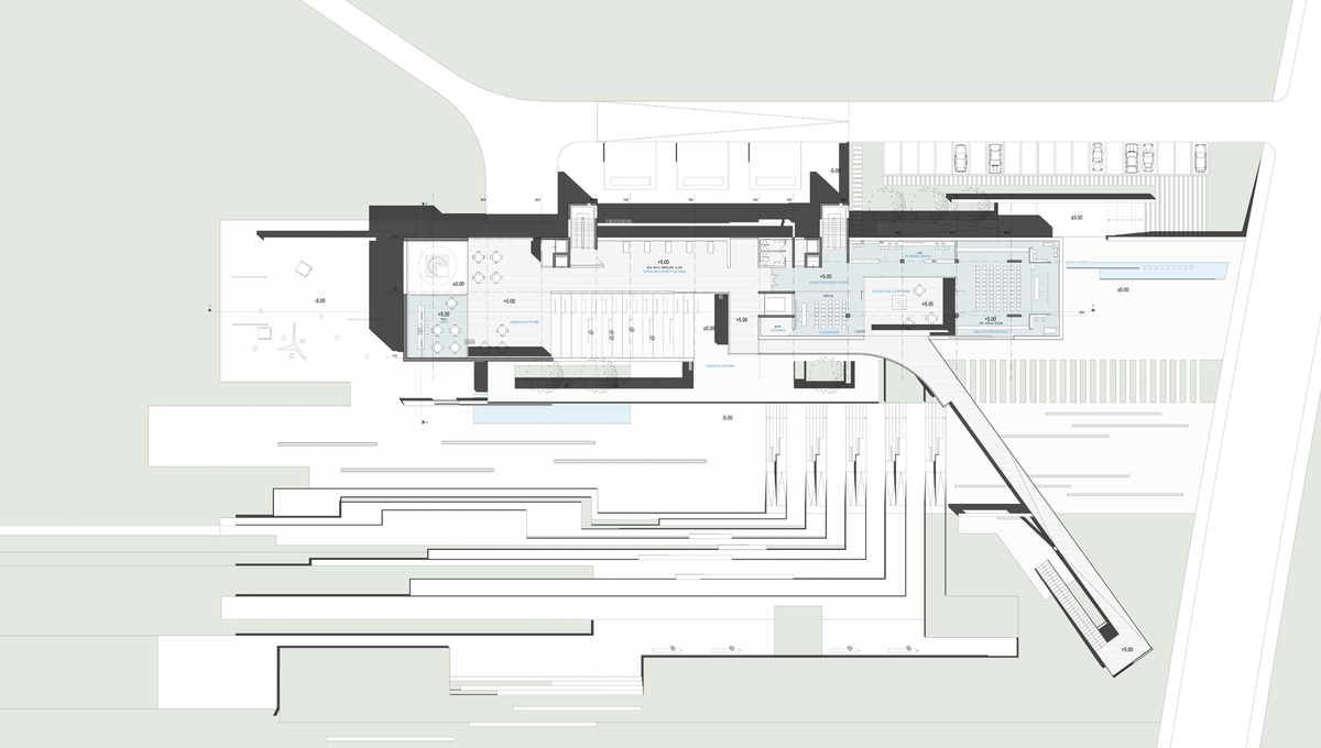 010 – FIRST FLOOR PLAN   1/200 - Image Courtesy of ONZ Architects