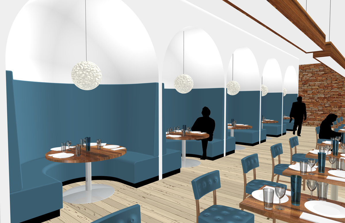 Booth Seating Area