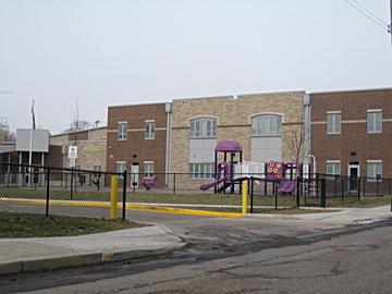 Exterior, Livingston Avenue Elementary School