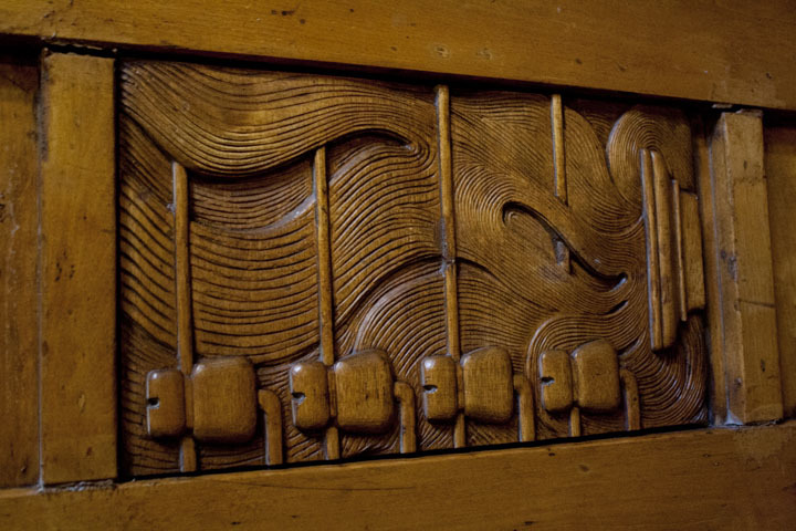 Eliel Saarinen detail in Finnish National Romantic style