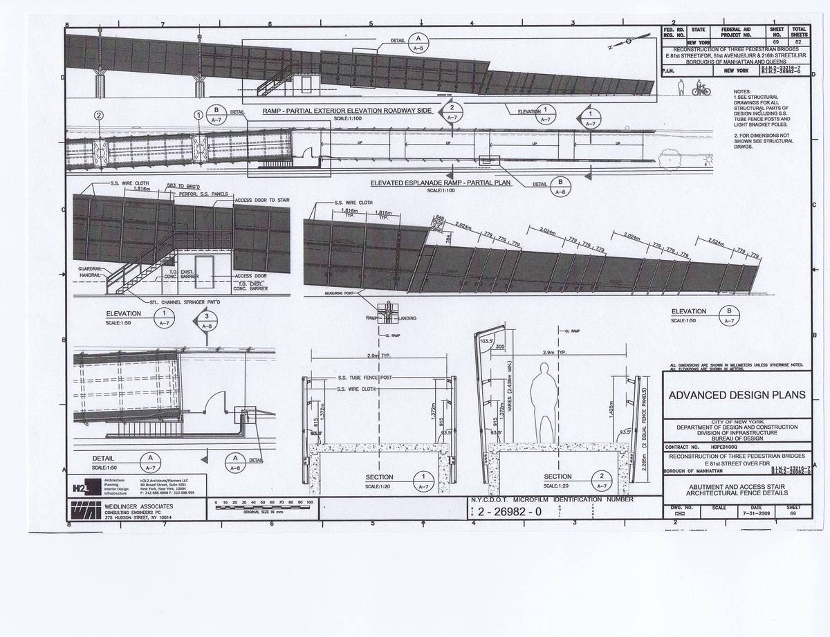Plans, Elevations and Details