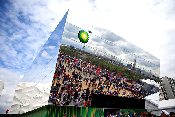 London 2012 BP pavillion by Doug Mills:The New York Time