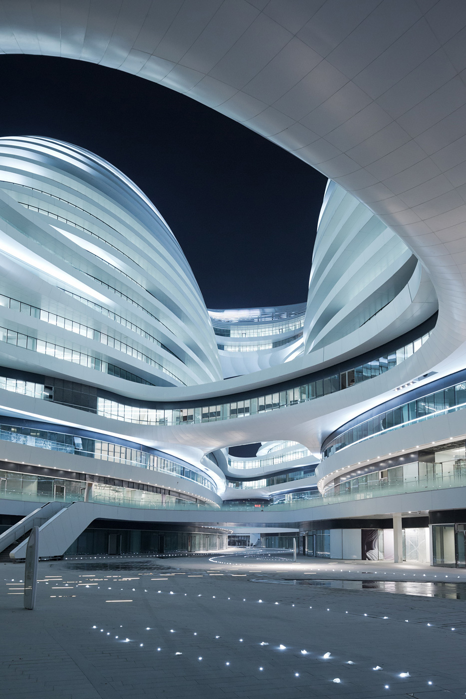 Galaxy Soho, Beijing, China by Zaha Hadid Architects; Photo: Iwan Baan