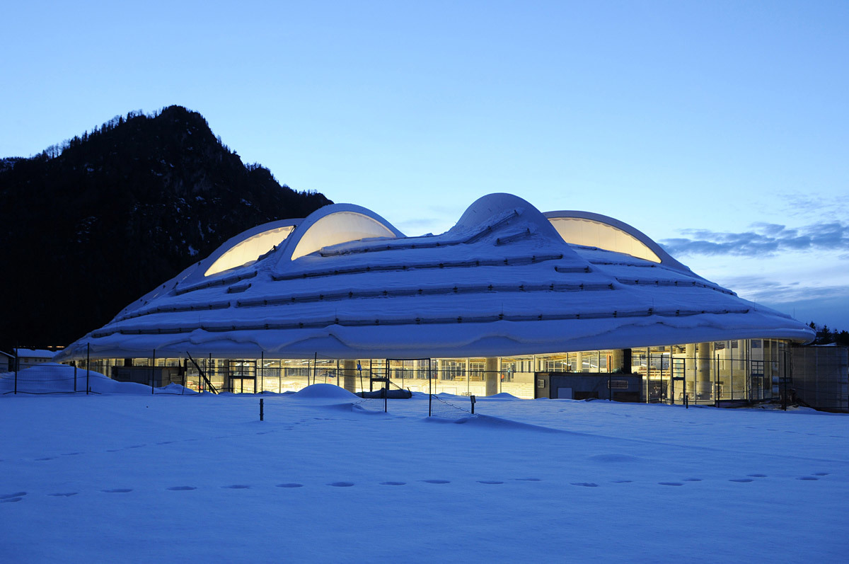 World Sport Building of the Year: Speedskating Stadium Inzell – Max Aicher Arena, Inzell, Germany, Projektarbeitsgemeinschaft Behnisch Architekten Pohl Architekten, Germany