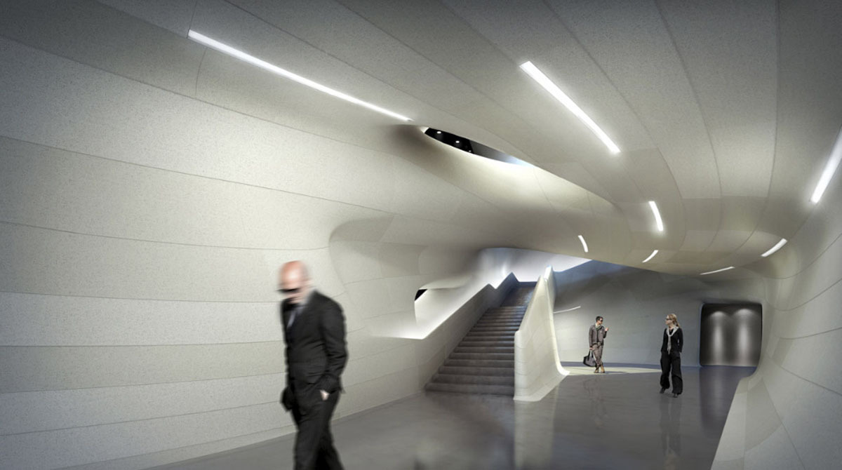 Louisiana Sports Hall of Fame Museum - Interior Rendering (Image: Trahan)