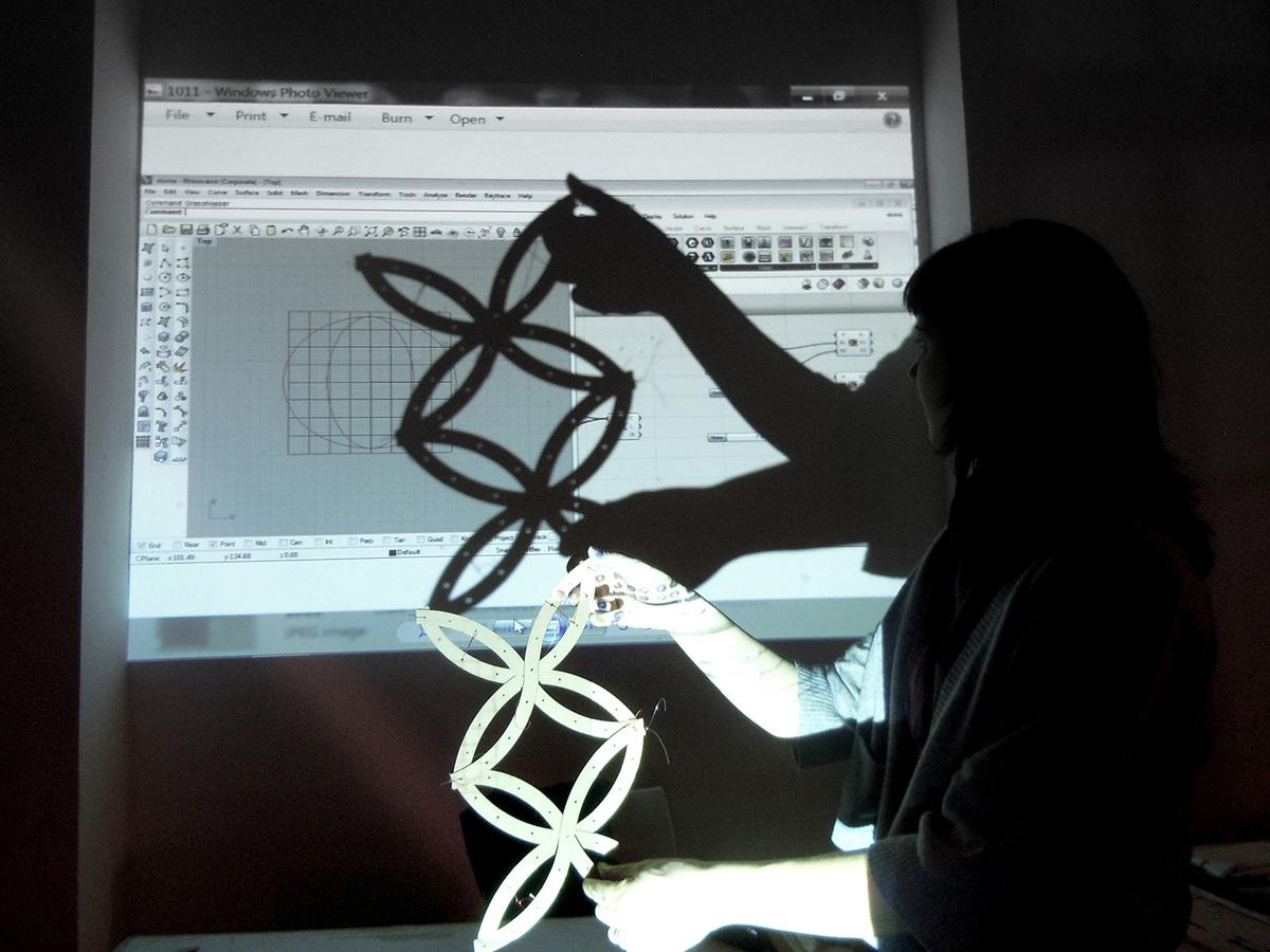 Adaptive component test / Noise De-Former (Photo: Elif Erdine)