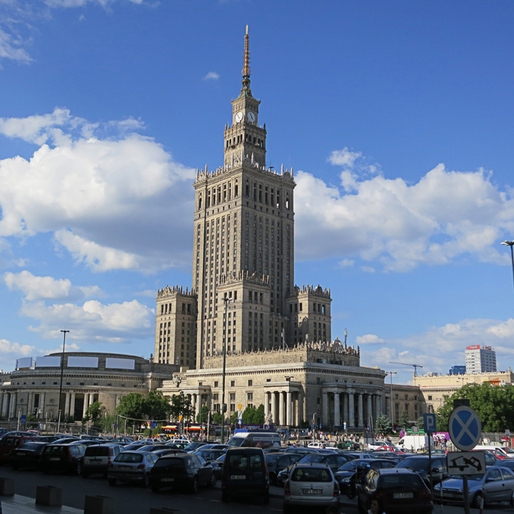 Warsaw's 1955 Palace of Culture and Science by A.D.Morley & J.A.Wong .