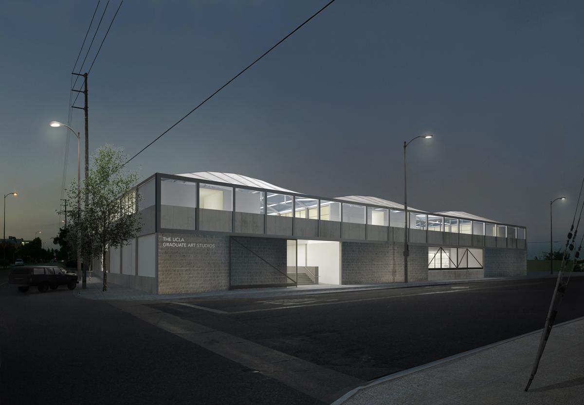 UCLA Margo Leavin Graduate Studios, Culver City. Image: Johnston Marklee
