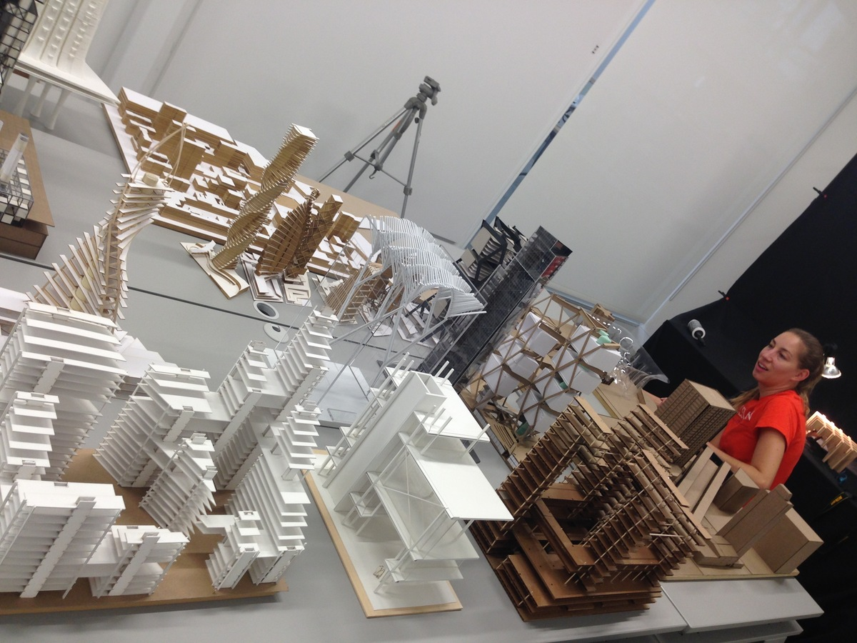 Photographing highrise design proposals