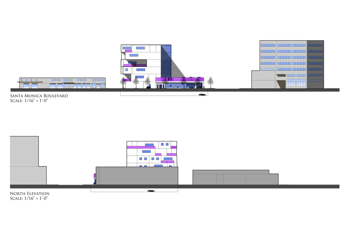 South/North Elevation - SketchUp