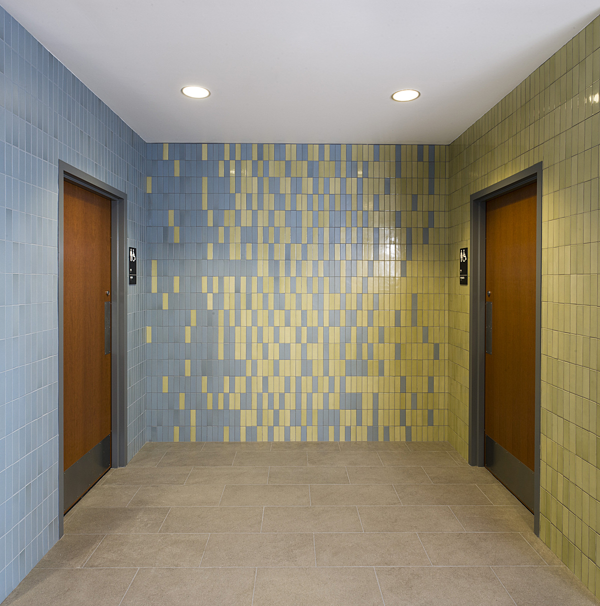 entry for new restrooms