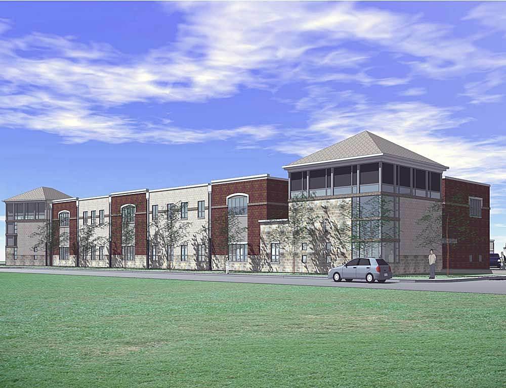3D Model, Exterior, Livingston Avenue Elementary School