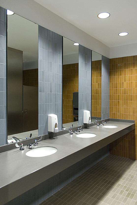 new men's restroom