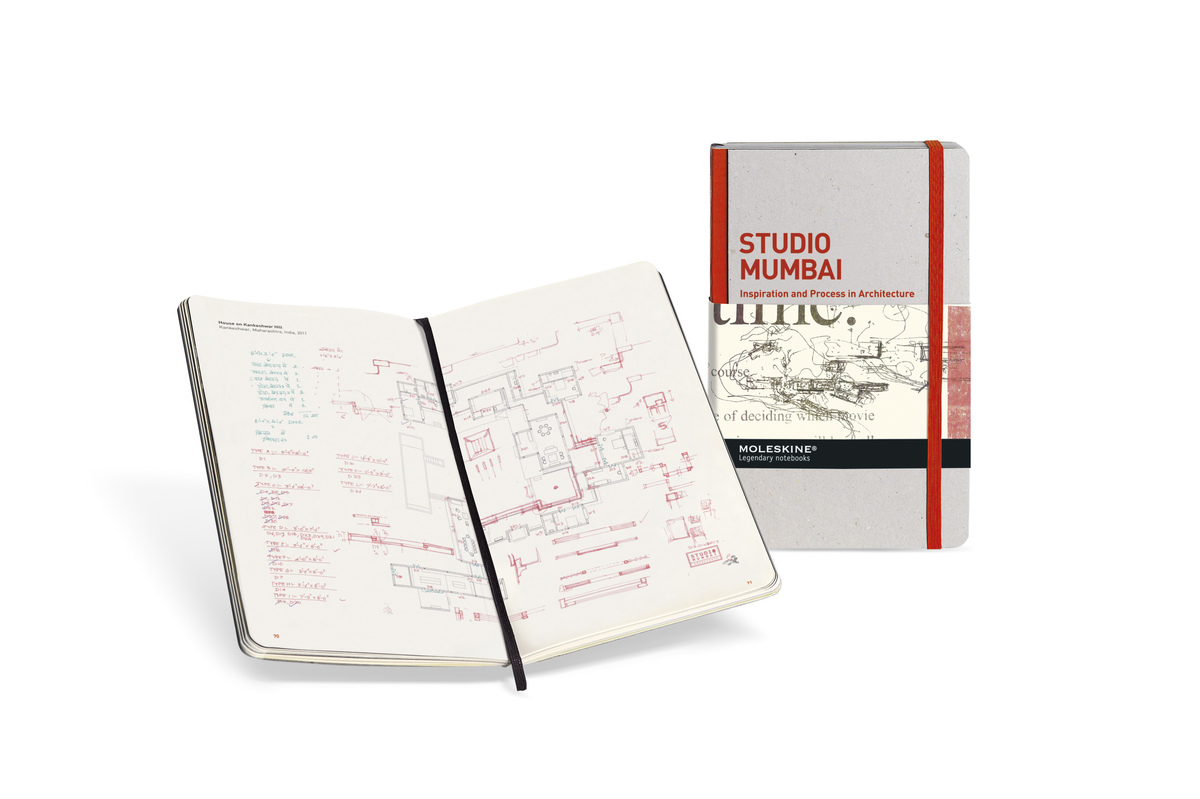 The Studio Mumbai notebook, one of the newest additions to the Moleskine® IPA collection.